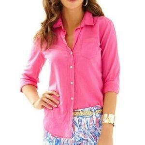 Lilly Pulitzer NWT Anna Maria Shirt Size Small